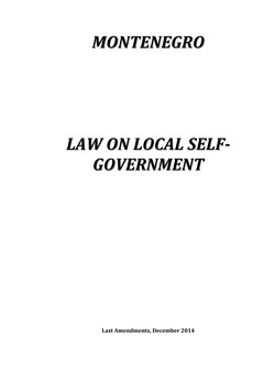 Law on Local Self-Government_2014-1